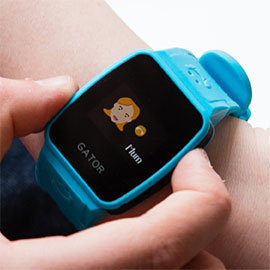 Gator Watch for kids Wearable Phone and Tracker